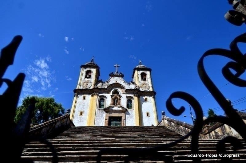 Igreja Matriz Santa Efigênia, em Ouro Preto